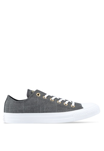 dbcf615a035e Converse black Chuck Taylor All Star Washed Linen Ox Sneakers  E218DSH682ACBAGS 1