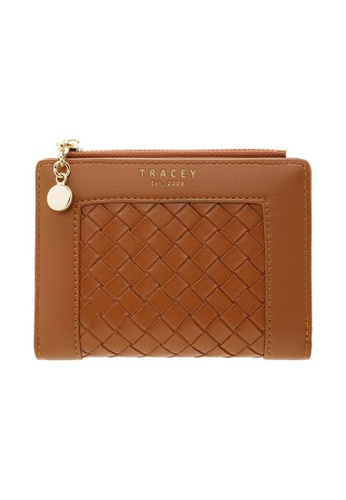Tracey brown Tracey Grid Short Purse 9D4DCACEBC14FCGS_1