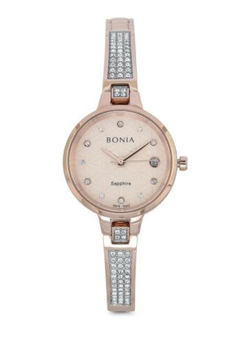 BONIA gold Bonia BNB10342-2577 Rose Gold Stainless Steel Watch BO777AC0SE1DMY_1