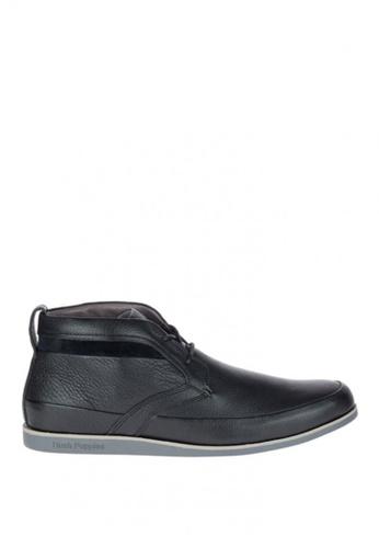 Hush Puppies black Beau Voss Mid Cut Boots HU326SH0J3GUPH_1