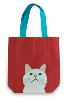 Cat A4 Tote Bag