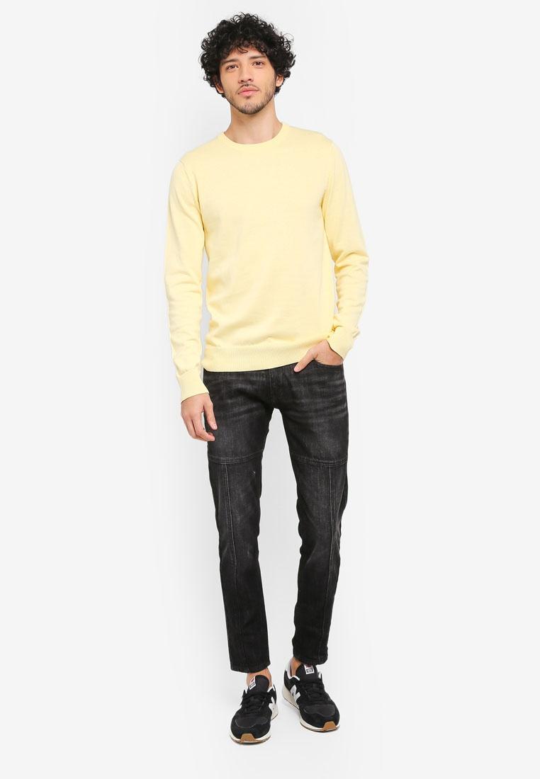 Detail Styleline ZALORA Slim Fit Jeans Black fawWq6E