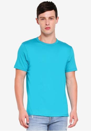Topman 藍色 短袖T恤 B898FAA31D2850GS_1