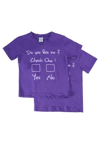 UniqTee purple Do You Like Me Tee 2-Pack BBB99KA0BCF9DCGS_1