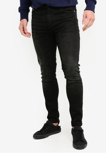 Superdry 黑色 緊身牛仔褲 F4AA7AA8ECF2C5GS_1