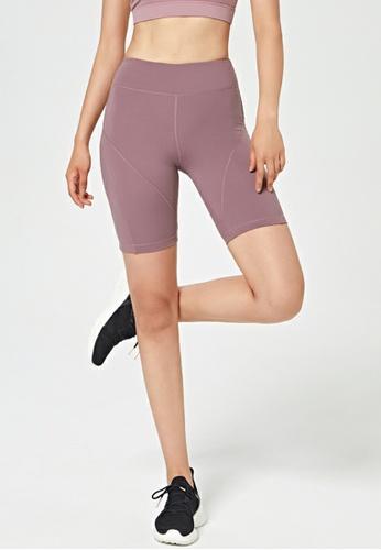HAPPY FRIDAYS High Waist Hip Lift Tight Shorts DK-WFK01 E55A9AA54A1541GS_1