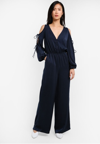 The Fifth Label navy Emergent Jumpsuit TH664AA0S3Q5MY_1
