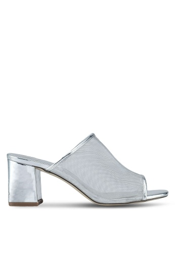Carlton London silver Mule Heels 949A4SH455FBFFGS_1