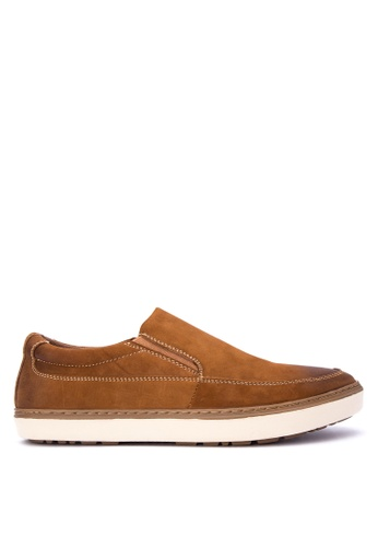 Mendrez brown Hanson Loafers ME992SH0KG1RPH_1