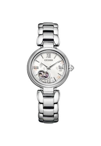Citizen silver CITIZEN PR1020-85A AUTOMATIC STAINLESS STEEL WOMEN'S WATCH 07926AC15CCD70GS_1