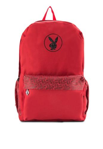Playboy black Playboy Backpack PL371AC45DOSMY_1