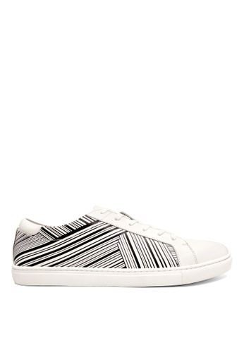 Kenneth Cole New York white KAM STRIPES - Sneaker 8E510SH55205E0GS_1