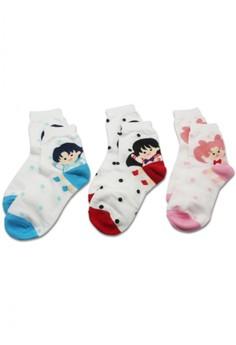 Sailor moon socks 1 (3 pieces set)