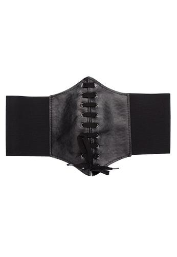 Golden Ticket Super Savers black Corset Belt Waistie 154A3USD3B3B41GS_1