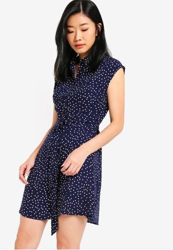 Something Borrowed navy Shirt Dress 22F78AAD2A5D42GS_1