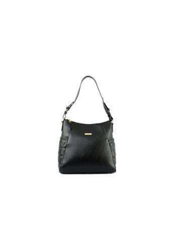 RENOMA Paris black Renoma Ladies 3D Quilted Tote Bag 1905091-01 120C5AC5B49764GS_1