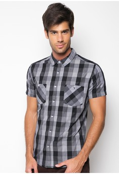 Checkered Short Sleeve Shirt