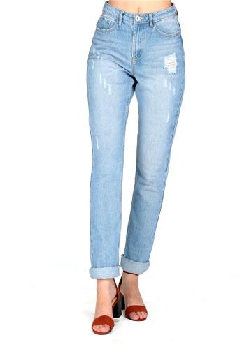 London Rag blue Blue Slim Fit Denim Jeans DB36AAA9156505GS_1