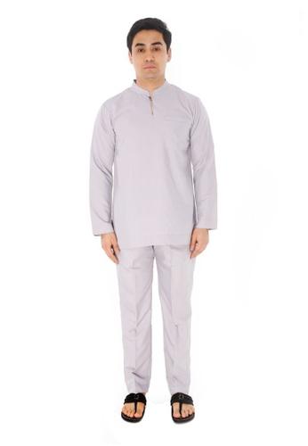 Amar Amran silver Baju Melayu Gumbae 86998AA45CF8FFGS_1