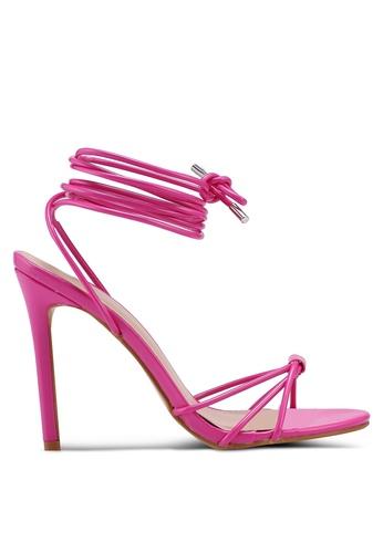 Public Desire pink Copper Heels C3F9DSH9A748A8GS_1