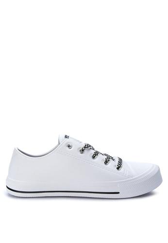 Krooberg white Retro Mens Sneakers KR692SH0J9TIPH_1