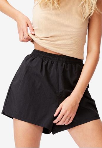 Cotton On black Miki Sport Shorts C380AAA59DEEB0GS_1