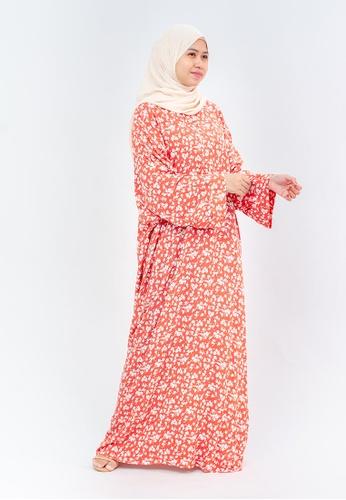 Imaan Boutique orange Yoori Kaftan 2.0 Suzy 26E64AAFF39DF6GS_1