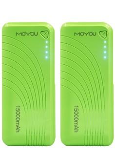 Moyou Premium Power Bank 15000mAh Set of 2