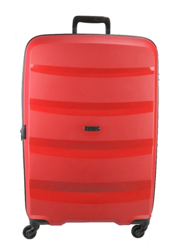 Heys red Heys Athena 28 inch Expandable  4 wheels Hard Case Luggage - H-10101 RED D6BECACCBBC575GS_1
