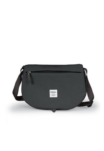 Hellolulu grey Hellolulu Elvin All Day Shoulder Bag (Charcoal) 04A89AC54E179BGS_1