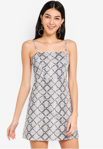 Supre grey 90s Fitted Cami Dress D9473AA5D1EA05GS_1