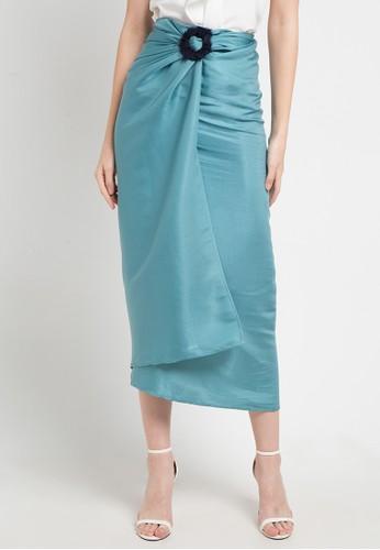 LUIRE by Raden Sirait blue Dc-Skirt F85AEAA77E392EGS_1