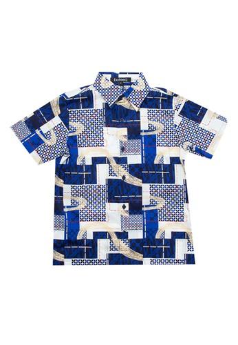 Bateeq blue Boys Shirt BF196KA49FDCA5GS_1