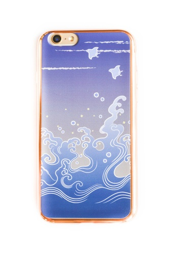 Fancy Cellphone Cases multi Wave Soft Transparent Case for iPhone 6/6s  FA644AC83QWMPH_1