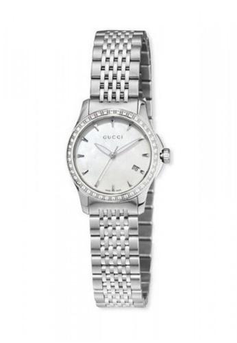 Gucci silver GUCCI G Timeless Diamond Bracelet Watch 001C2AC94289F8GS_1