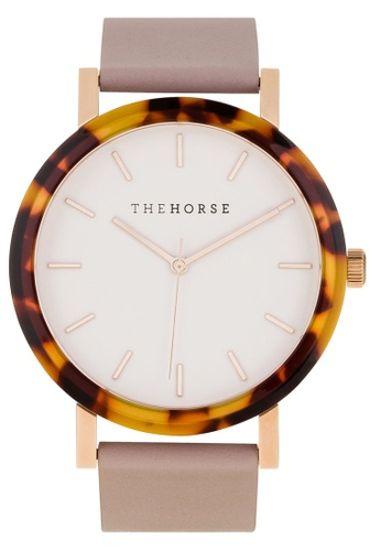 The Horse white and pink and multi The Resin Watch F1716AC81CE6EEGS_1