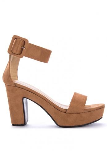 2c49538e73c Shop Rock Rose Platform Sandals Online on ZALORA Philippines