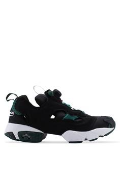 low priced c1a98 081d9 Reebok black Classic Instapump Fury OG MU Shoes 21F68SHE2FF433GS 1