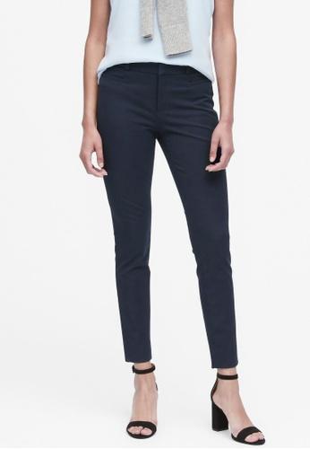 Banana Republic navy Modern Sloan Skinny-Fit Washable Pants 2B953AA274B37AGS_1