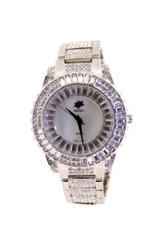 Japan Design Crystal Star Dial with Crystal Band Watch