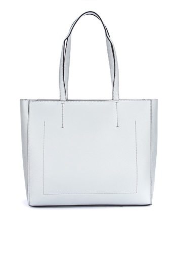 fbb01170b6 Shop Calvin Klein Pebbled Leather Tote Bag Online on ZALORA Philippines