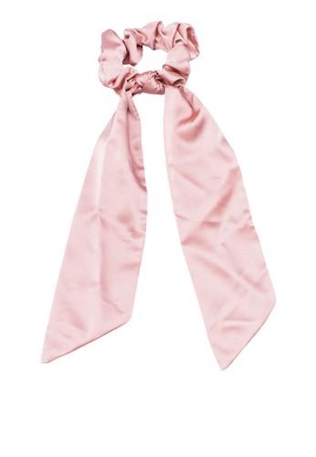 Rubi pink Lexi Scarf Scrunchie Hair Tie 46D53ACC321DF6GS_1