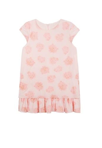 KENZO KIDS pink KENZO GIRLS DRESS E74A2KAEBFE3EAGS_1