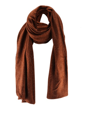 LOWRYS FARM brown Long Scarf 7C477AC3F68E34GS_1