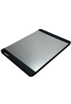 Sleek Metal Case for Apple iPad 2/3/4 (Silver)
