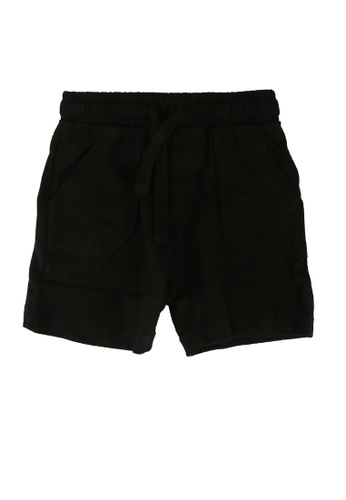 FOX Kids & Baby black Basic Shorts D9431KA04DD89CGS_1
