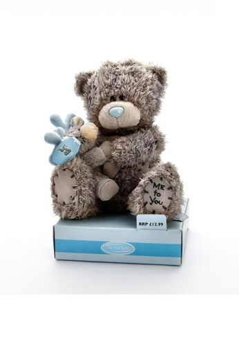 Her Jewellery Me to You Plush Toys - 6″ Tatty Teddy Holding Jingle the Reindeer 01739THA5BA1B3GS_1
