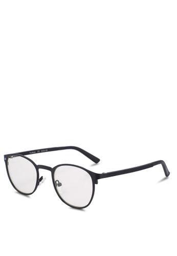 Privé Revaux 黑色 圓框抗藍光眼鏡 0BB29GL11A129BGS_1