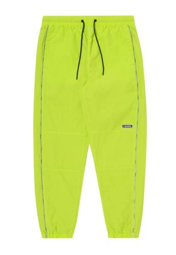 Fingercroxx green Logo track pants 520BDAAFAF6C1BGS_1