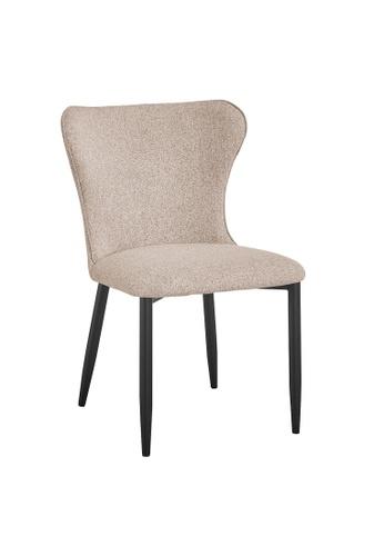 Joy Design Studio beige Kirkby Chair Beige 92691HLCF76E73GS_1